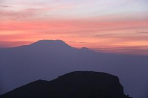 Kilimandjaro vu du Meru